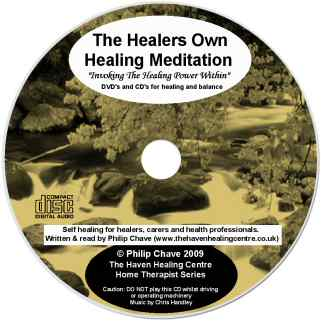 The Healers Own Healing CD - Lightscribe label