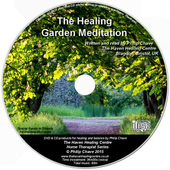 The Healing Garden Meditation CD by Phil Chave