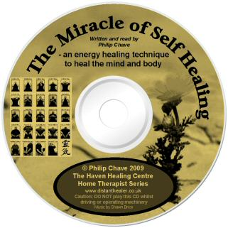 The Miracle of Self Healing CD - Lightscribe label