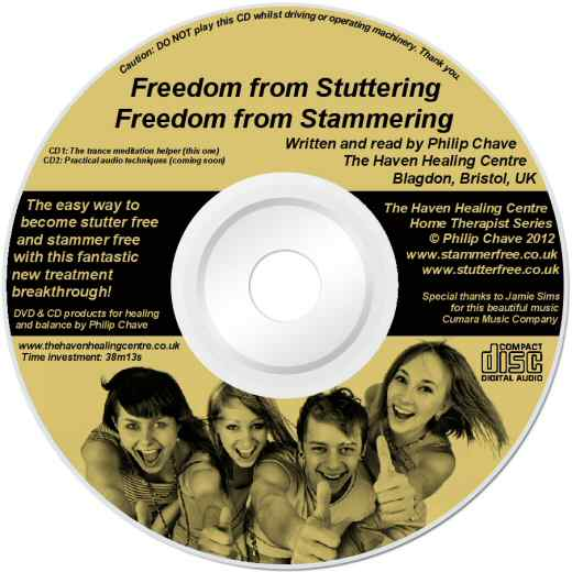 The Freedom from Stammering Technique - Lightscribe Label