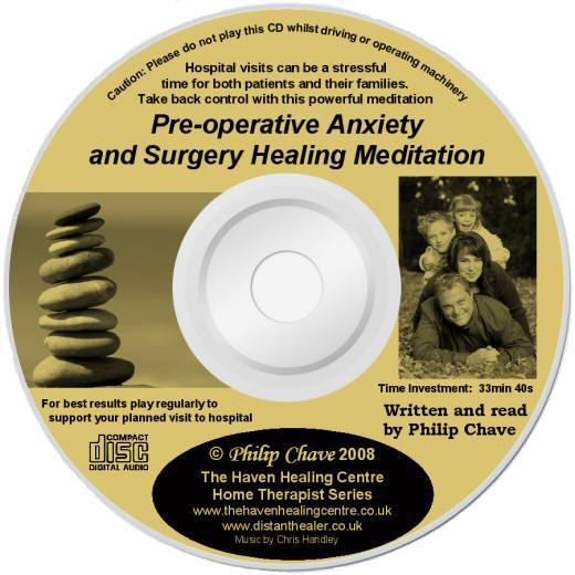 The Pre-operation Anxiety CD - Lightscribe label